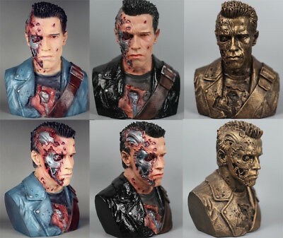 1/2 Terminator T800 Arnold Schwarzenegger Display Figure Resin Statue 24 CM High