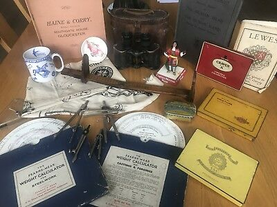 Job Lot mixed Antique and interesting vintage Collectables