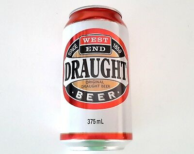 New Release West End Draught Retro Empty Beer Can
