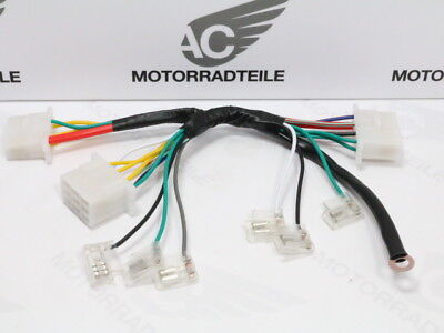 Honda CB 500 550 Four K3 F1 F2 wire wiring harness electric plate repro new