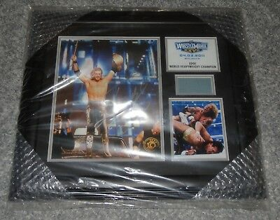Wwe Limited Edition Edge Wrestlemania Xxvii Championship Hand Signed Plaque