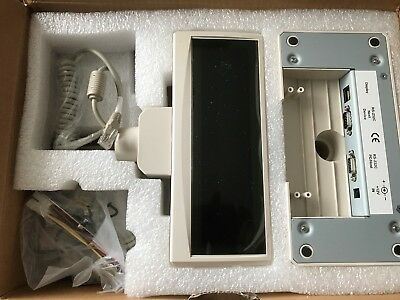 Customer Vfd Display Fec Fv-2029M ( White ) 2*20 9Mm Character With Pass Through
