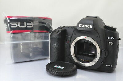 [EXCELLENT]Canon EOS 5D Mark II 21.1MP Digital SLR Camera Shutter Count : 12917