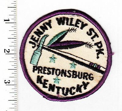 Prestonsburg, KY. Jenny Wiley State Park Embroidered Patch...#162t