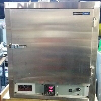 VWR scientific 1601 Hafo Horizontal-Convection air flow lab Oven 230V clean room
