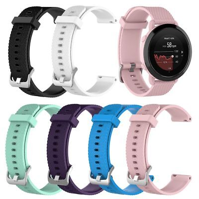 Silicone Wrist Watch Band Strap,Tempered Glass Film Screen For Suunto 3 Fitness