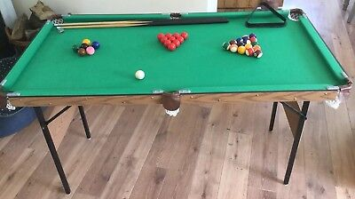 Pool Table 4 Foot Six Inches