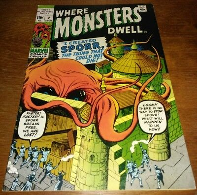 Where Monsters Dwell #2 * VF 8.0