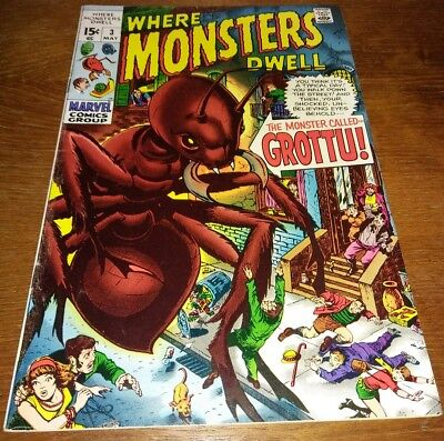 Where Monsters Dwell #3 * VF 8.0