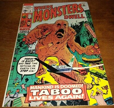 Where Monsters Dwell #5 * VF 8.0