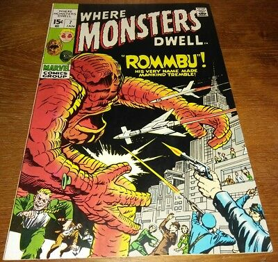 Where Monsters Dwell #7 * VF+ 8.5