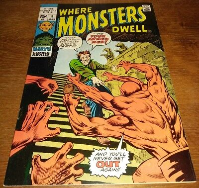 Where Monsters Dwell #8 * VF+ 8.5