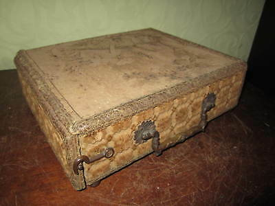 A Victorian or Edwardian tapestry foot warmer