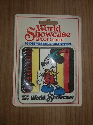 Mickey Mouse Epcot Center Deutschland Germany World Showcase Disney D21