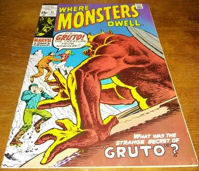 Where Monsters Dwell #11 * VF+ 8.5