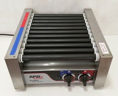 APW Wyott Hot Dog Sausage Roller Heater Machine - HRS-20 Food Service Concession