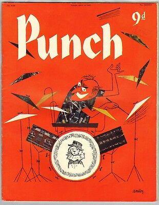 Punch Magazine July 24th 1957 (No.6100)