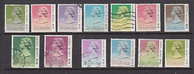 HONG KONG STAMPS USED VALUES TO $20   .Rfno.A370.