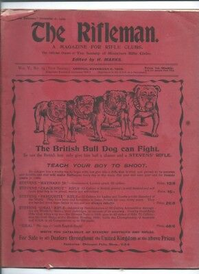 The Rifleman - The Magazine For Rifle Clubs. November 6th 1909