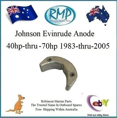 A Brand New Cavation Plate Anode Johnson Evinrude 40hp-thru-70hp 2/Stroke 392462