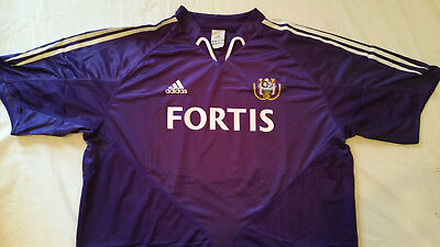 Anderlecht Home Football Shirt 2004 (Adidas XXL) used, excellent condition