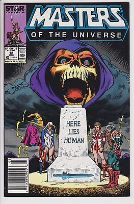 Masters of the Universe #12 & 13 (1988, Marvel) VF/NM Newsstand Variants Set   L