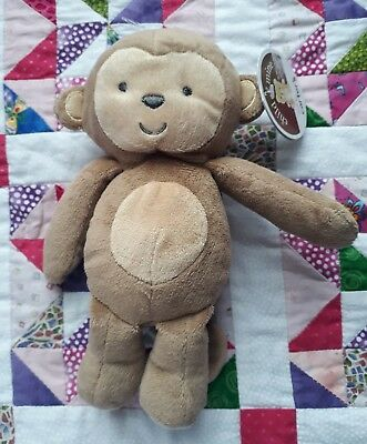 Child Of Mine Carters Monkey Soft Toy With Internal Rattle New With Tags 2013