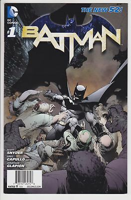 Batman #1 (Nov 2011, DC) VF/NM Wal-Mart Edition Variant 1st App Harper's Row   L