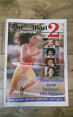 The Mail On Sunday 2 Supplement Vintage Magazine - May 26th, 1989