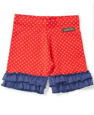 Matilda Jane Wish You Were Here Shortcut Shorties red polka dot 2 NWT