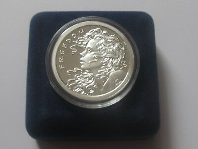2013 Freedom Girl Proof 1 oz SBSS, wide reed version !!!! Top rare !!!