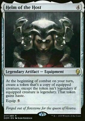 Helm of the Host ~ Dominaria ~ MINT/NearMint ~ Magic the Gathering MTG