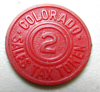 Colorado Sales Tax Token 2