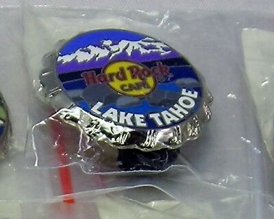 Hard Rock Cafe Lake Tahoe 2006 Bottle Cap Series Le Collector Pin! New In Bag!