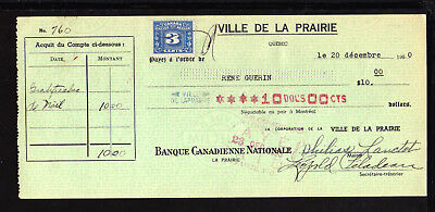 1950 Banque Canadienne Nationale - Ville De La Prairie, Quebec