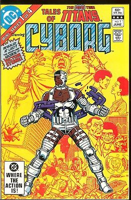 Tales Of The New Teen Titans #1 Perez Nm 1982 Cyborg