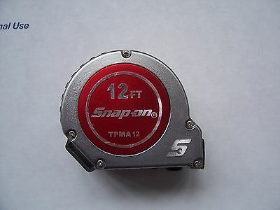 Snap On 12'  Tape Measure. New In Box