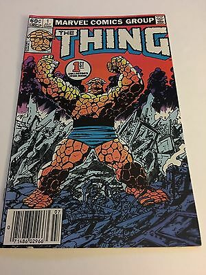 The Thing # 1   Comic Book Super Clean