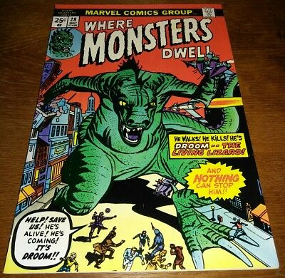 Where Monsters Dwell #28 * VF 8.0