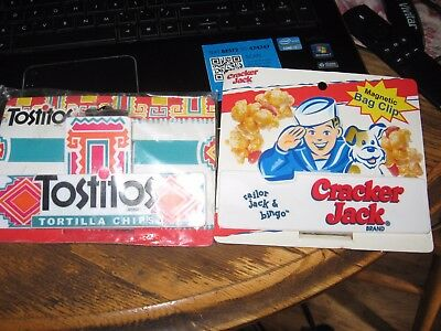 Tostitos and Chip Bag Clip Set . Aronson free shipping
