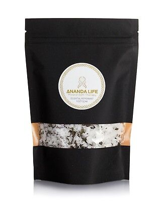 Ananda life Mineral Bath Therapy Magnesium Peppermint foot soak 400g