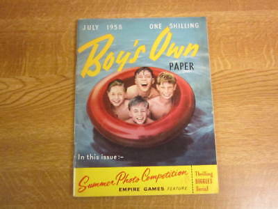 July 1953, BOY'S OWN PAPER, Tom Graveney, Stanley Unwin, Stan Eldon, Herb Elliot