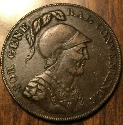 1795 Uk Gb Great Britain For General Convenience Halfpenny Token