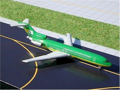 "Gemini Jets (Gjbnf183) Braniff 727-200 ""green Flying Colors"" 1:400 Scale Diecast"