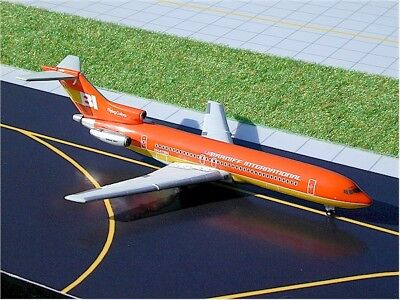 "Gemini (Gjbnf185) Braniff 727-200 ""orange Flying Colors"" 1:400 Scale Diecast"