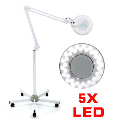 Lupenleuchte Lupenlampe Arbeitsleuchte Linse LED Standlupe 5 Dioptrien EU Plug
