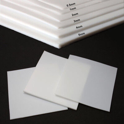 New PTFE Film Sheet High Temperature Plate Plastics 0.5/1/2/3/4/6mm Thick