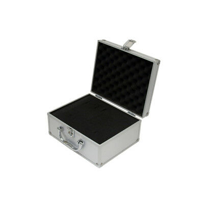 Small Aluminium Flight Case Box Silver Camera Foam Tool Travel Carry Storage