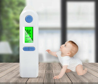 Digital Fever Baby Temperature Infrared Ear Forehead Kids & Adult Thermometer