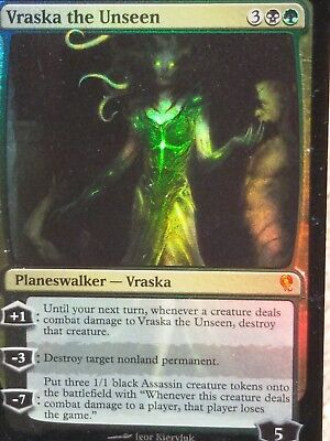 FOIL Vraska the Unseen ~ Jace vs Vraska ~ NearMint ~ Magic the Gathering MTG